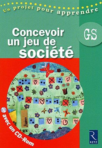 CONCEVOIR JEU DE SOCIETE + CD
