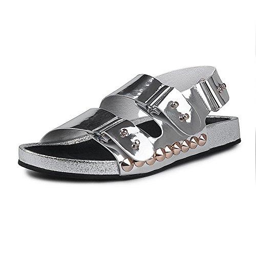 Adee , Damen Sandalen Silber