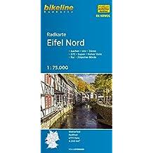 Radkarte Eifel Nord, Aachen, Köln, wasserfest und reißfest, GPS-tauglich mit UTM-Netz (Bikeline Radkarte)