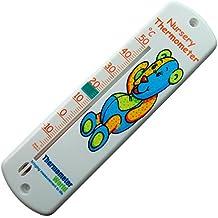 Termómetro de pared–bebé niños Childs dormitorio Medidor de temperatura de la habitación–fácil de colgar