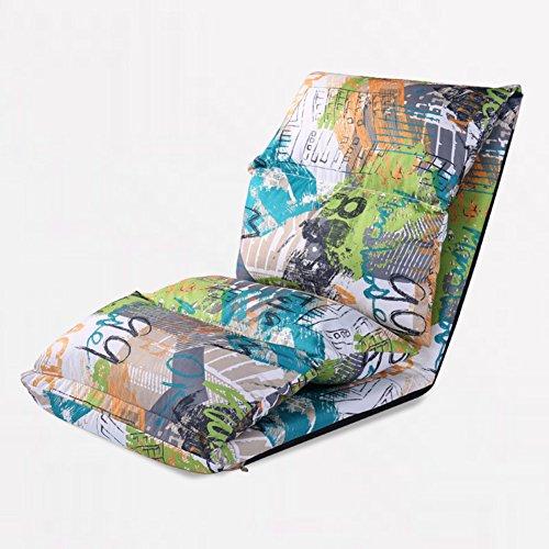 DULPLAY Verstellbar Falten Faul, Sofa, Tatami Stock-relaxsessel Gaming Chair Bodenkissen Multiangle Sofa-betten für zu Hause-G