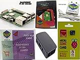 #8: Raspberry Pi 3B+/3B Plus Motherboard Combo - Variation (PiBOX - Basic Combo Black - 3205BK)