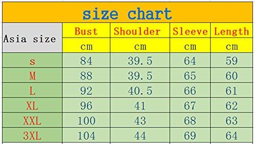 YMYY-Kleider Donna Bluse T-Shirt Primavera Autunno Maglietta Cuore Paillettes Camicie Casual Moda Basic Top Eleganti Maglie a Manica Lunga Rotondo Collo Verde