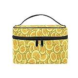 Emoya - Trousse estiva per trucchi, colore: arancione melone, da viaggio, per uomini, donne e ragazze