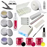 Starter Set Nail with Color Gel - UV Gel Kit - UV Lamp