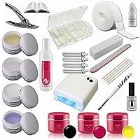 Starter Set Nail with Color Gel - UV Gel Kit - UV Lamp