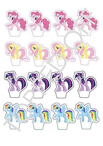 sbaren Kuchendeckel Dekorationen (Farbe Rainbow Dash)