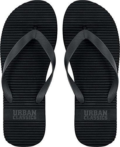 Unisex-Erwachsene Basic Slipper Zehentrenner, Grün (Olive), 45 EU Urban Classics