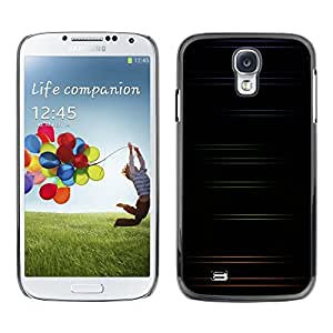 Omega Covers - Snap on Hard Back Case Cover Shell FOR SAMSUNG GALAXY S4 - Minimalist Color Stripes