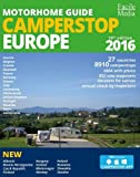 Motorhome guide Camperstop Europe 27 countr. 2016 GPS facile