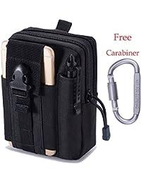 Universal Pocket Gürtel-tasche Für Handynsmartphone Hüfttasche Geldbörse Kleidung & Accessoires Geldbörsen & Etuis