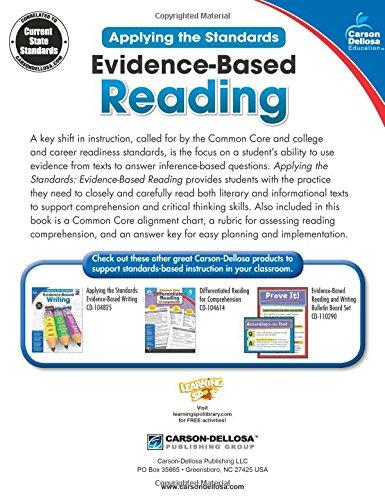 Evidence-Based Reading, Grade 2 (Applying the Standards)
