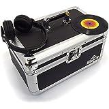 """Gorilla 7""""Singles para discos de vinilo funda de transporte de almacenamiento Caja resistente fuerte capacidad 200pcs Inc garantía de por vida"""