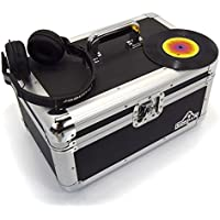 "Gorilla 7"" Singles Vinyl Record Carry Case Storage Box Tough Strong Holds 200pcs inc Lifetime Warranty"