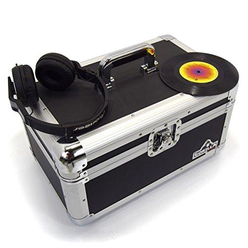 Gorilla 17,8cm Singles Vinyl Record Tragetasche Aufbewahrungsbox Robust hält 200INC Lebenslange Garantie (Tasche Inc)