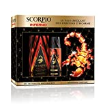 Scorpio Coffret pour Homme 2 Produits Inferno Eau de Toilette Flacon 75 ml/Déodorant Atomiseur 150 ml