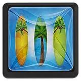 EZIOLY - Pomelli quadrati per tavola da surf, per armadietti, credenze, cassettiere, 3 pezzi