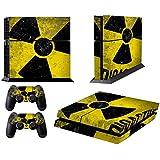 TQS™ Skin Designer para PS4 Playstation 4 Consola + Dualshock Controller Adhesivos YellowFAN