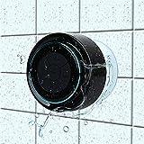 Haissky Bluetooth-Duschlautsprecher, Portable Bluetooth Lautsprecher tragbarer Waterproof Wireless Speaker Wasserdicht mit Saugnapf,Freisprecheinrichtung, integriertes Mikrofon