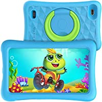 "VANKYO MatrixPad Z1 Tablet per Bambini 7"" 32GB ROM, Android 8.1 Oreo IPS HD Display WiFi Bluetooth Kidoz Preinstallato con Kid-Proof Custodia (Azzurro)"