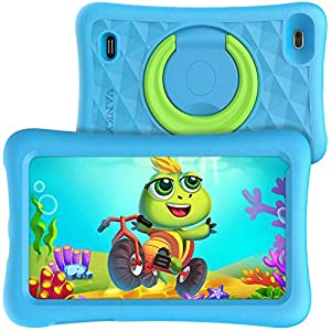 VANKYO-MatrixPad-Z1-Kids-Tablet-7-inch-32GB-ROM-COPPA-Certified-KIDOZ-Google-Play-Pre-Installed-with-Kid-Proof-Case-Wi-Fi-Blue-Shade-Blue