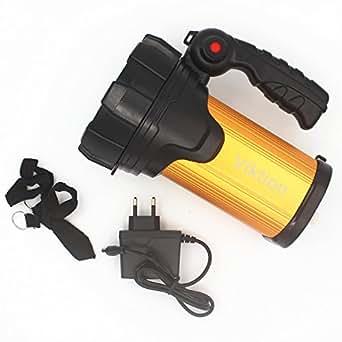 Viktion - 10W IP65 rechargeable lampe à distance 1000m Gearshift Lumières éblouissement Long Shot phares extérieure portable étanche haute puissance pour Chasse / Pêche / Camping / randonnée etc.