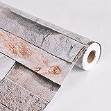 Loaest 3D-Marmor Braun Ziegel Bild Pvc Tapete Wohnzimmer Fernseher Sofa Wandbild dekorative Hintergrund wallpaper Roll