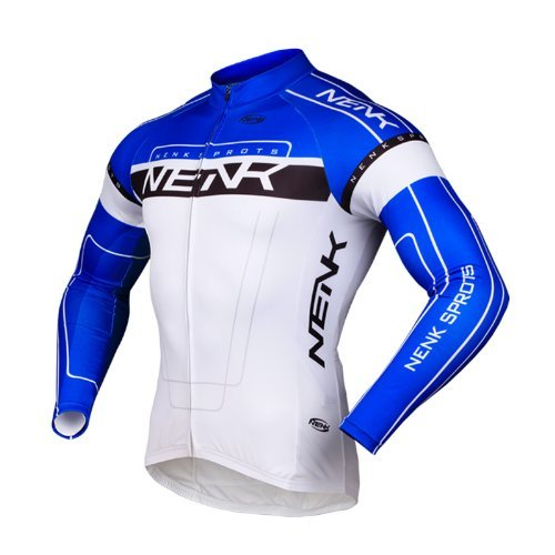 sobike-nenk-ciclismo-maillot-mangas-largas-cooree-2-colores-azul-3xl