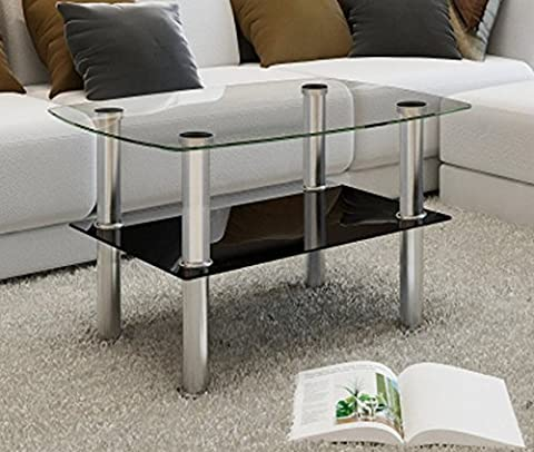 Trendy Coffee Table In 2 Tier Design Add Style And Elegance Atmosphere In Canteen, Cafe Bar, Hotel & In Your Home Living Area By eCommerce