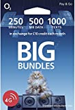 O2 The Big Bundle Pay As You Go Sim Card