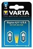 Varta 792 Glühlampe Stecksockel 4,8V 0,75A 2er Pack