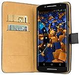 mumbi Ledertasche im Bookstyle für Motorola Moto X Play Tasche - 2