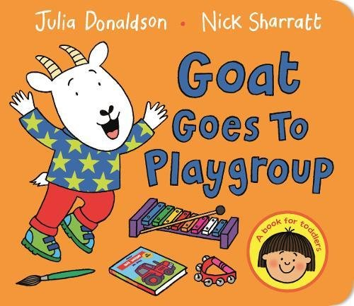 Goat Goes To Playground por Julia Donaldson