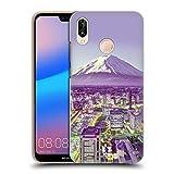 Head Case Designs Yokohama Japan Berg Fuji Schönsten Orte Der Welt Set 3 Ruckseite Hülle für Huawei P20 Lite