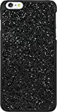 The Kase Paris Coque Bling Strass pour Apple iPhone 6 Plus/6s Plus, Minuit Noir