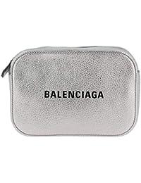 Balenciaga Mujer 55237200R2N1460 Plata Cuero Bolso De Hombro