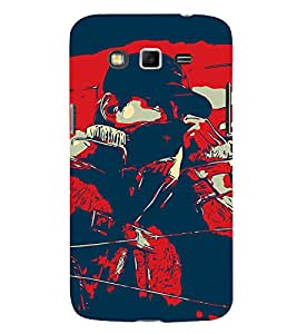 Man Abstract 3D Hard Polycarbonate Designer Back Case Cover for Samsung Galaxy Grand Neo :: Samsung Galaxy Grand Neo i9060