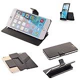 K-S-Trade Schutz Hülle für Hisense Sero 5 Schutzhülle Flip Cover Handy Wallet Case Slim Handyhülle bookstyle schwarz