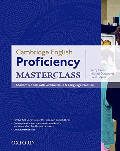 Cambridge English: Proficiency (CPE) Masterclass: Proficiency Masterclass Student's Book & Online Skills