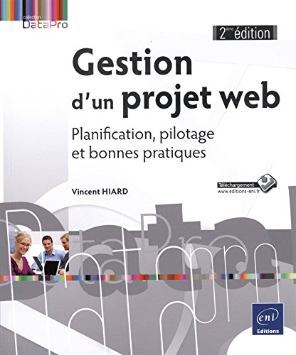 Book's Cover of Gestion dun projet web  Planification pilotage et bonnes pratiques 2e édition