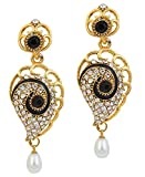 Kriaa Gold Plated Drop Earrings for Wome...
