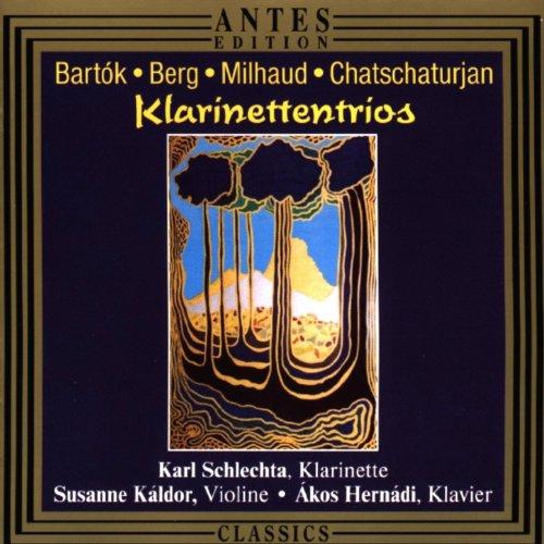 Darius Milhaud: Suite fuer Violine, Klarinette und Klavier - Ouverture