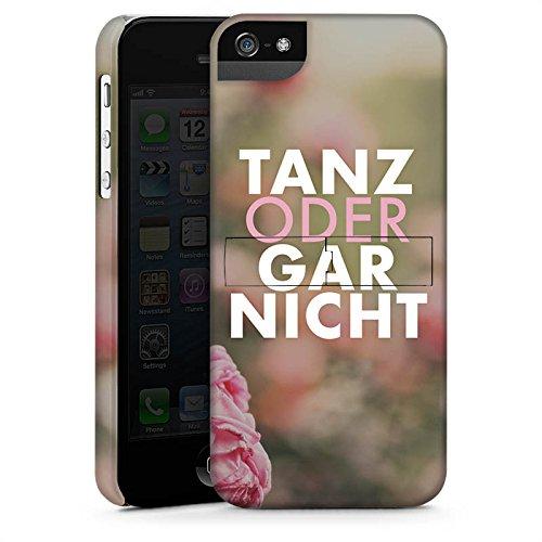 Apple iPhone X Silikon Hülle Case Schutzhülle Tanz Spruch Statement Premium Case StandUp