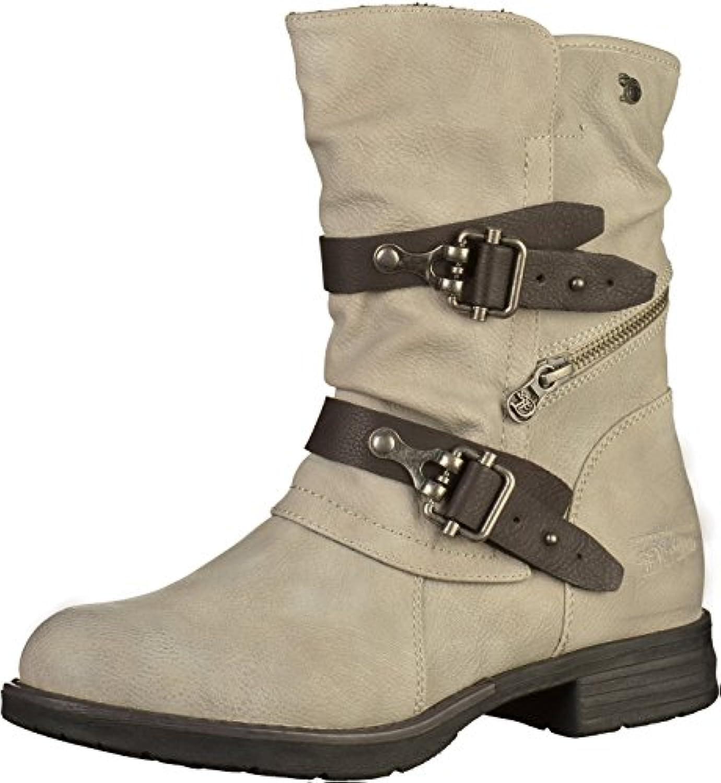 Tom Tailor - - - 3795601, Stivali da Motociclista Donna | Buon design  | Scolaro/Signora Scarpa  491200