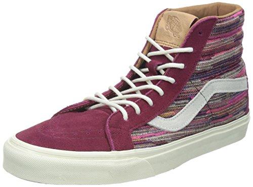 Vans Sk8 Hi Reissue CA chaussures Weinrot