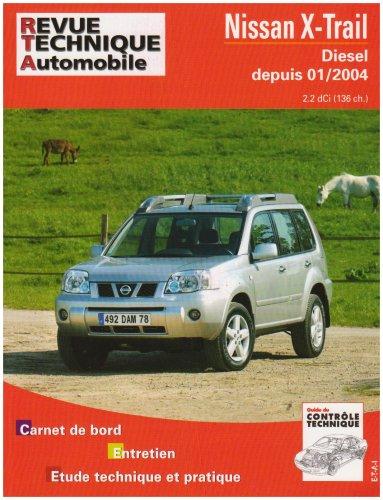 Revue Technique 685.1 Nissan X-Trail d 2.2 Dci/136 Ch -> 01/2004