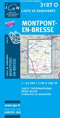 Montpont-en-Bresse: IGN3127O par IGN