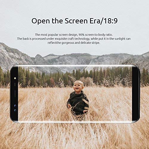 Blackview S8 UK SIM-Free Smartphone, 5.7screen(18:9) 13MP+13MP Sony lens, Type C quick charge, 4GB+64GB, 4G Smartphone, Android Smartphone- Black Img 1 Zoom
