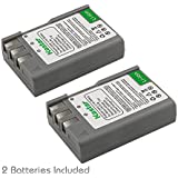 Kastar EN-EL9a Camera Batteries (Pack Of 2) For Nikon EN-EL9