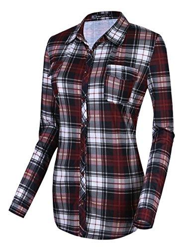 Urban GoCo - Camisas - con botones - para mujer #7 XL